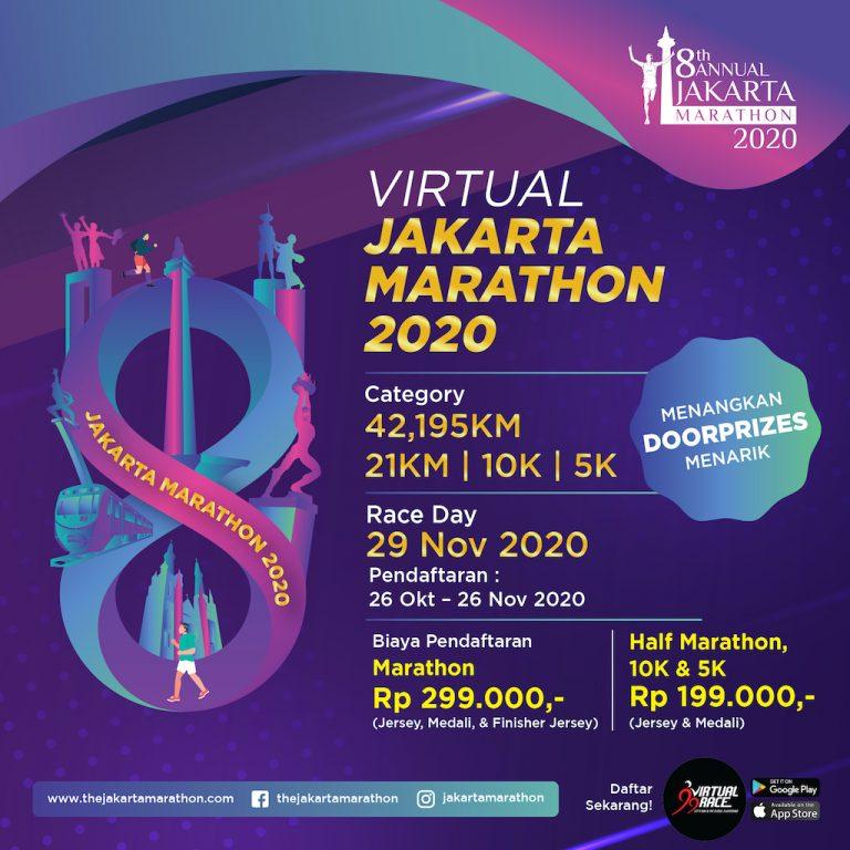 Virtual Jakarta Marahon 2020