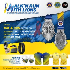Walk and Run With Lions