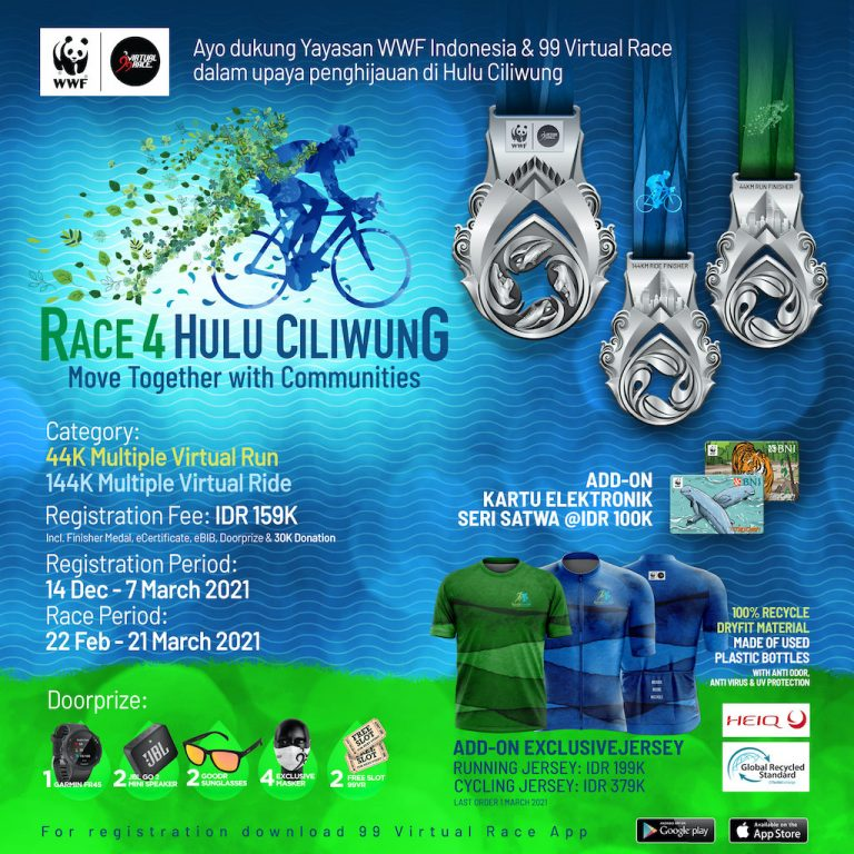 Race 4 Hulu Ciliwung