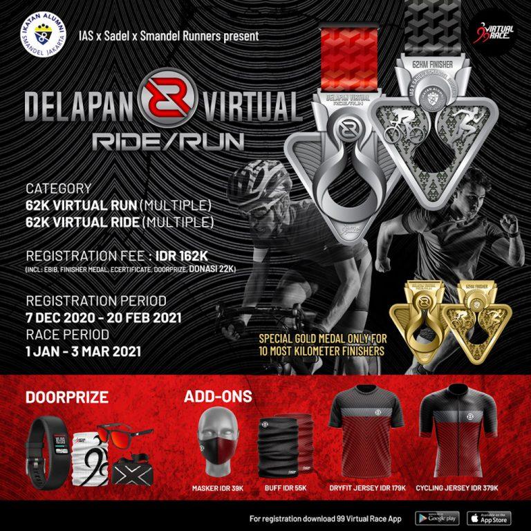 Delapan Virtual Ride/Run