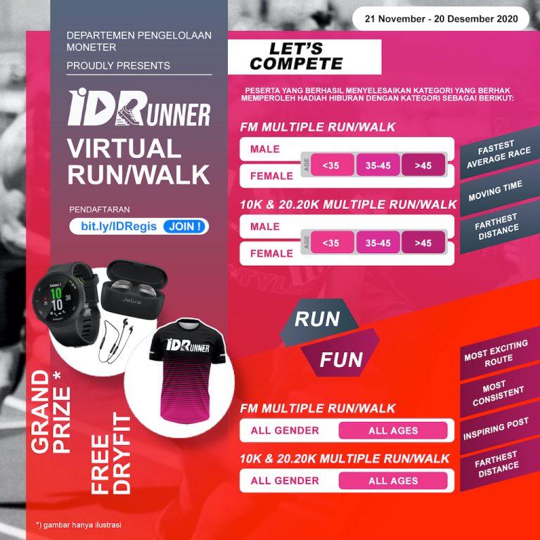 IDRunners Virtual Run/Walk