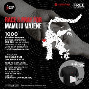Race & Pray for Mamuju Majene