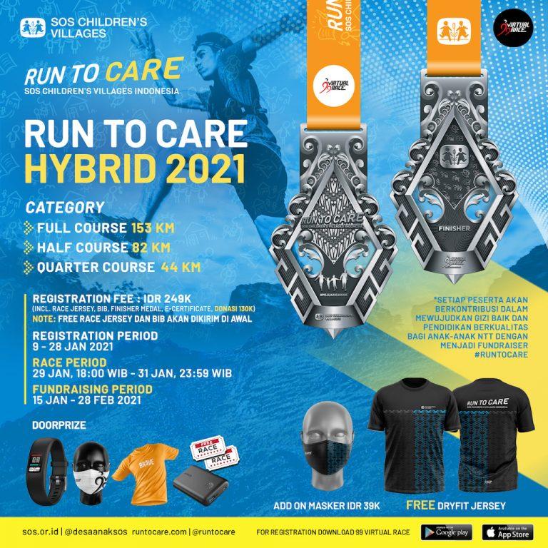Run To Care Hybrid 2021