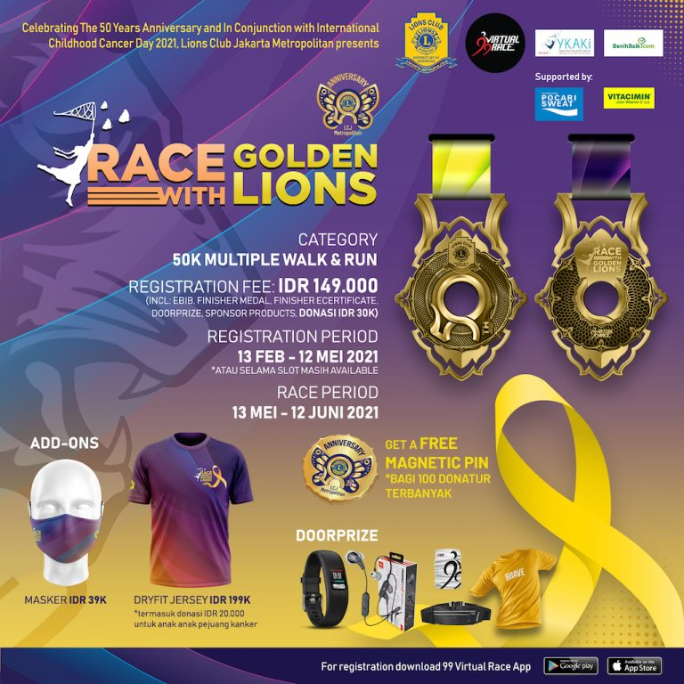 Race with Golden Lions