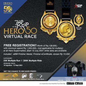 HERO 50 Virtual Race