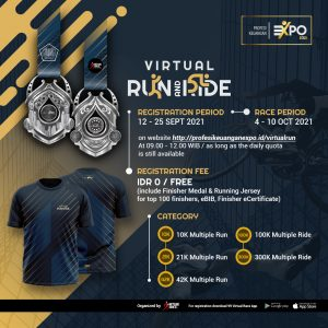 EXPO Profesi Keuangan Virtual Run & Ride 2021